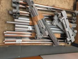 Two full sets of hanging rails