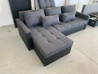 🔴FREE delivery & assembly 🔴Brand New Corner Sofa bed with DOUBLE storage🔴