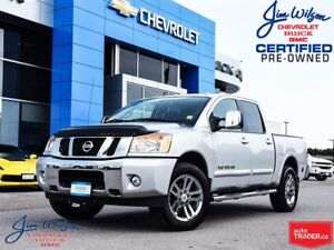 2013 Nissan Titan SL 4X4 ROOF NAV LEATHER LOW KMS VERY CLEAN!!!
