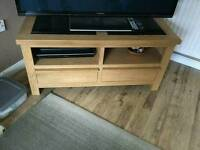 Solid wood TV unit in excellent condition grab a bargain