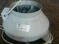 Systemair rvk 200e2 a1 extractor fan hydroponic