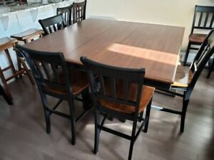 Amazing 6 Pub Style Chairs Kijiji In Ottawa Gatineau Area Buy Home Interior And Landscaping Elinuenasavecom