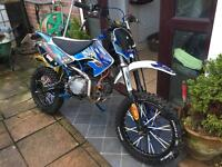 Road legal pitbike 140 registered as 50 pit bike