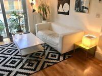 IKEA KLIPPAN SOFA (WHITE)