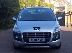 2010 Peugeot 3008 Exclusive HDI Auto 5 Door Hatchback Diesel 12 month MOT 3month/3000miles warranty