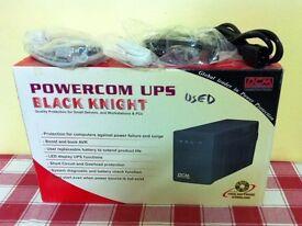 The Black Knight 600VA UPS Unit ( vgc & gwo ) for £ 29 ovno