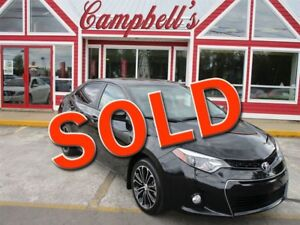 2016 Toyota Corolla Sport SUNROOF HTD LEATHER BACK UP CAMERA