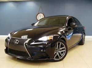 2014 Lexus IS 250 AWD| NAVI| F-SPORT| CLEAN CARPROOF