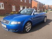 AUDI S4 cabriolet in Sprint Blue 344BHP