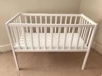 White Kiddicare Crib