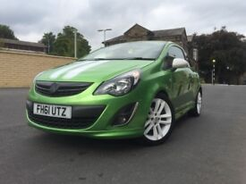 Vauxhall corsa 1.2 SXI A/C with stop/start,Dash cam,£30 tax,SRi body kit,sting rep lots of upgrades