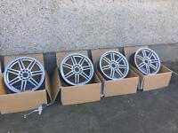 "17"" BK Racing Alloy Wheels"