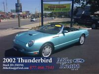 2002 Ford Thunderbird Convertible *Rare Car *Comes with Hard She