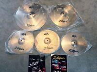 "Zildjian ZBT 390-P Cymbal Pack (NEW IN BOX) 14"" HiHats, 14"" Crash, 16"" Crash & 20"" Ride"