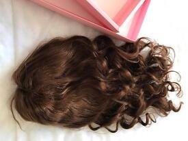 "7A 22"" Virgin Brazilian Human Hair Lace Front Wig, 150% Density"