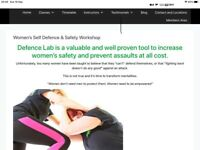 Fitness and self defence class