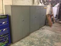 Metal garage unit cabnets 3 at £50 each
