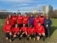 2 midfielders needed for 11 aside football team, find football in south london. 1912b