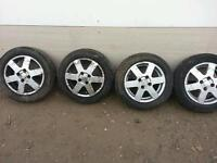 ALLOY WHEELS FOR SALE, NISSAN MICRA 2002 WHEELS, GRAB THEM NOW