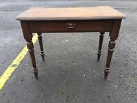 Gorgeous Antique Oak Desk/ Hall Table