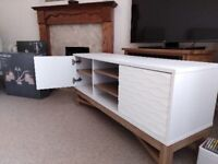 **SOLD** (July 2018 purchase) Hyena Zander matching bookcase and TV stand