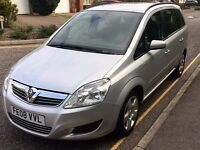 VAUXHALL ZAFIRA EXCLUSIVE 7 SEATER FULL SERVICE HISTORY
