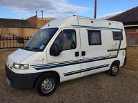 2001 auto sleeper fiat ducato 2.5 diesel camper Motorhome caravan Low miles PX anything