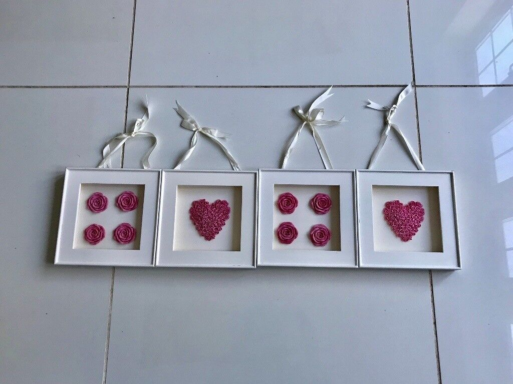Next set of 4 pictures perfect for girls room