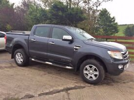 12 Ford Ranger Limited Double Cab Pick Up