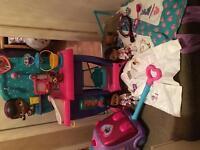 Doc Mcstuffins toy bundle