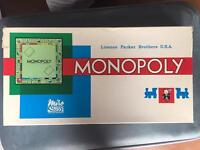 Vintage French monopoly game