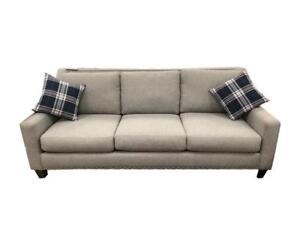 Grey Sofa Set with Nailheads (SF02)