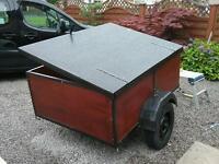 Car or camping trailer