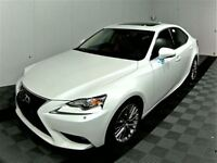 2014 Lexus IS 250 AWD, Heated Leather, Moonroof, Backup cam,