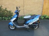 50cc scooter lexmoto scout pulse 63 plate low miles alarm key fob really tidy bike for the summer