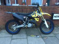 Suzuki rm 125 2006 with spare wheels cr rm Crf Rmz ktm Yzf Yz Kxf Kx tc quad