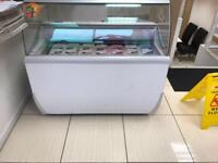 Commercial ice cream freezer