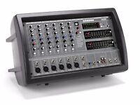 Samson 600 watt PA system inc XM610 mixer, Resound RS15 Speakers + Stands £370 ONO