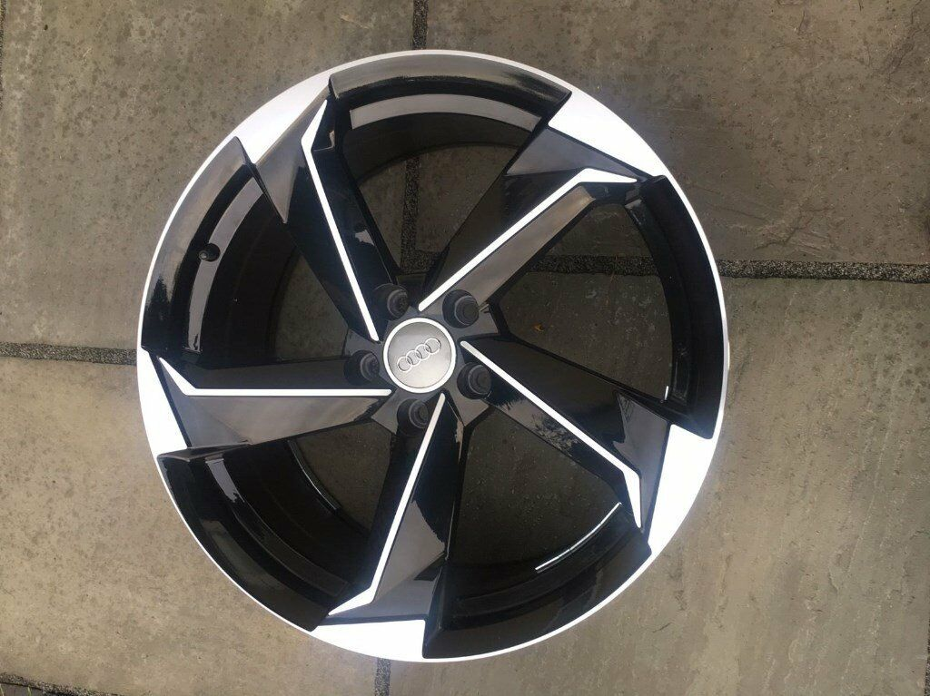 New 18 Quot Inch Audi Rotor Alloy Wheels Twist A3 A4 A5 A6 Rs3