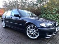 """BMW 3 Series 2.0 320d M Sport Touring 5dr Full Leather Interior 18""""Alloys 6 Speed"""