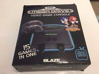 AT Games Sega MegaDrive RRP £60 15 games in 1 BOXED