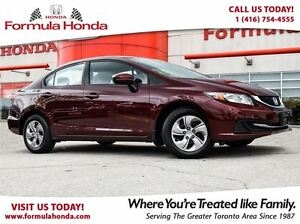 2014 Honda Civic LX | FUEL EFFICIENT | BLUETOOTH - FORMULA HONDA