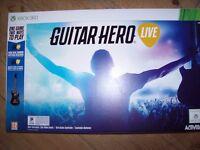 Guitar Hero Live xbox 360 + game