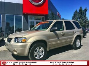 2007 Ford Escape LIMITED*4WD*CUIR*IMPECCABLE
