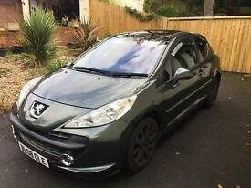 Peugeot 207 gt turbo ( gti ) bmw 1 series ?