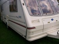 bailey pagaent 5 berth 2000 with awning very nice condition