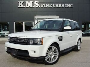 2012 Land Rover Range Rover Sport HSE LUXURY| REAR SEAT DVD| CER
