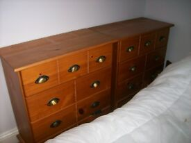 CAPTAIN CHEST OF DRAWERS (2)