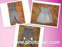 Girls size 12-18 months clothes bundle - 3 items