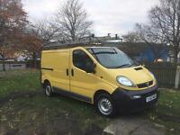 2003 Vauxhall vivaro 118k 12 months mot sat nav model